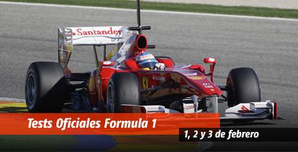 entrenamientos formula 1: