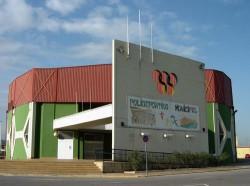 Polideportivo municipal de sagunto en valencia sagunto for Piscina municipal manises