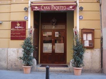 Casa paquito en restaurantes valencia el carmen - Restaurante casa de valencia ...