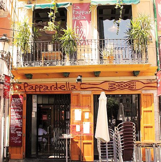 La pappardella en restaurantes valencia el carmen for La comisaria restaurante valencia